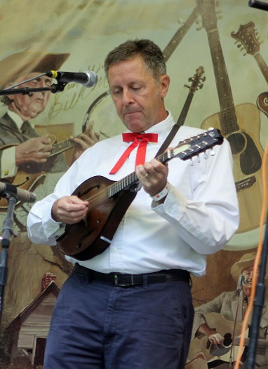 photo of Last Small Town mandolin player and vocalist, Fred Gilmartin
